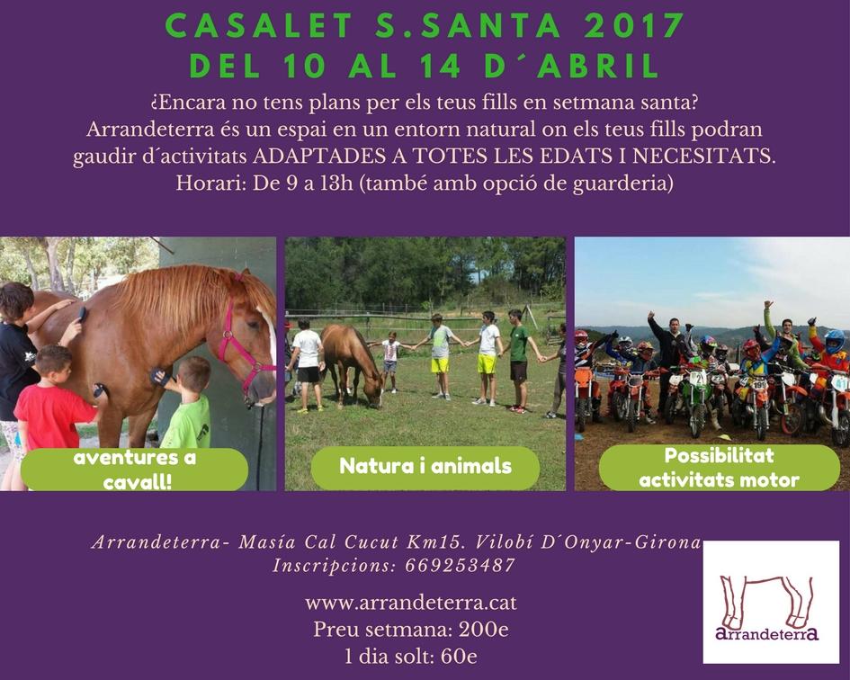 Casalet setmana santa 2017