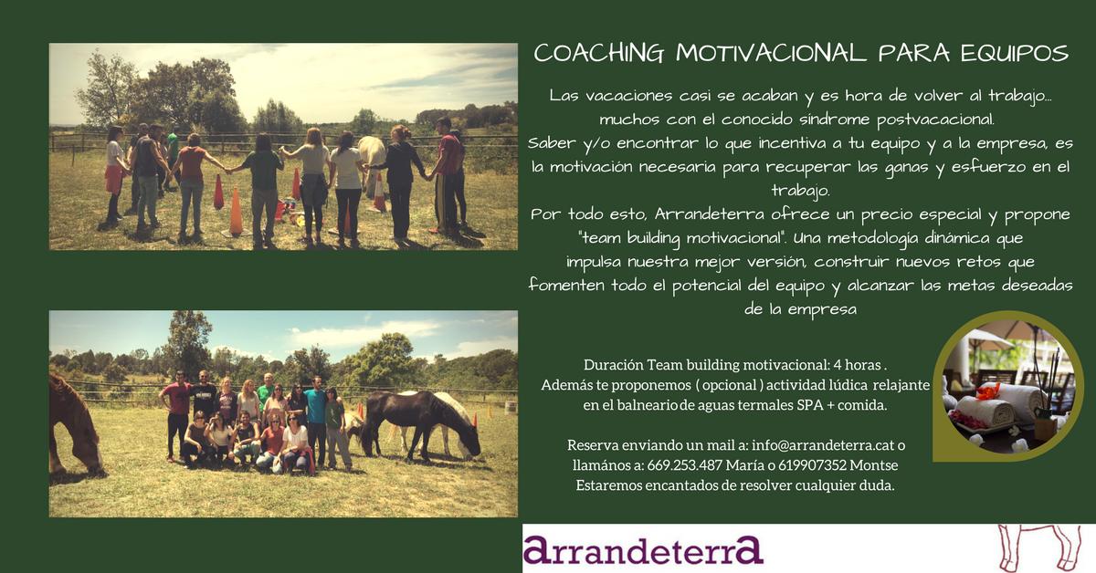 Coaching de motivation pour les équipes