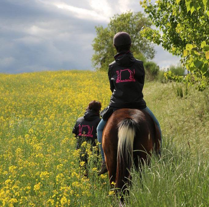 Paseos a caballo por Vilobí